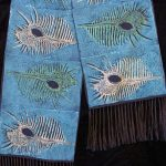 Peacock Shell Scarf