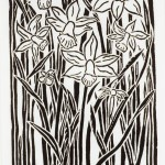 White Spring Print