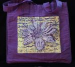 Divine Lotus Purple Purse