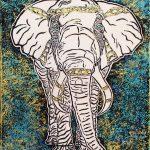 """Elephant World"" Prints"