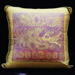 Feathered Dragon & Gemini Dragon Pillow