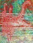 Flamingo Waters Print