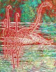Flamingo Waters Print