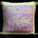 Feathered Dragon & Gemini Dragon Pillow