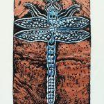 Lake Dragonfly Print