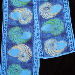 Nautilus Sky Blue Scarf