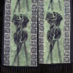 """Three Lilies"" scarves"
