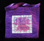 Solar Bloom Purple Purse