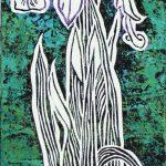 Purple Iris Print