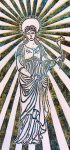 Madonna lily print