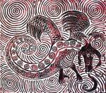 Spiral Dragon Print