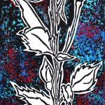 Stemmed Rose Print