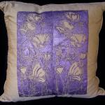 Tulips and Poppies Pillow